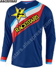 RACESTARS Downhill Jersey Motocross Men's MTB Tshirt Seven Motorcycle MX Racing Cycling Jersey DH Off-road Quick Dry Long Sleeve 2020 quick dry custom cycling jersey fishing jersey quick dry fishing long sleeve motocross cycling clothing downhill jersey