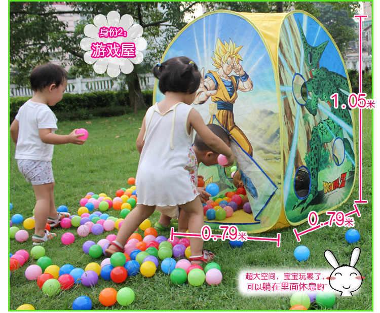 Barraca portátil bonito do jogo das crianças do presente wzfq do pó do leite customizável