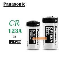 2 шт./лот Panasonic cr123a литий 3V Арло Камера Батарея CR123A CR17345 DL123A EL123A 123A