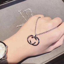 1:1 ожерелье из стерлингового серебра s925 пробы классическое