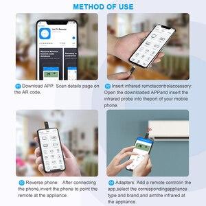 Image 5 - Coolreall telecomando a infrarossi interfaccia di controllo remoto per Samsung Huawei telecomando universale per telefono cellulare senza fili per Android