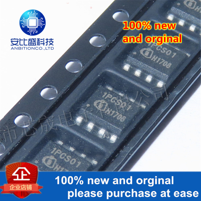 10pcs 100% New And Orginal ICE1PCS01G 1PCS01 Standalone Power Factor Correction (PFC) Controller In Continuous Conduction Mode