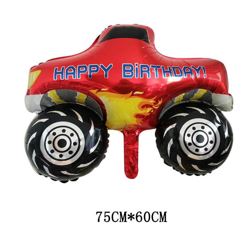 Blaze Monster Ballonnen Blaze Auto Ballon Gelukkige Verjaardag Banner Monster Machines Cartoon Partij Decoratie Kinderen Speelgoed Jongens Globos