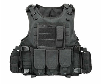Airsoft Military Tactical Vest Molle Combat Assault Plate Carrier Tactical Vest 7 Colors CS Outdoor Clothing Hunting Vest tactical vest navy lightweight vest training combat vests cs military airsoft hunting protective combat safety equipment