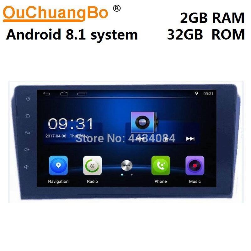 Ouchuangbo de audio de coche gps estéreo navi para Mazda 3 2004-2009 BT aux enlace espejo android 8,1 gratis Rusia mapa