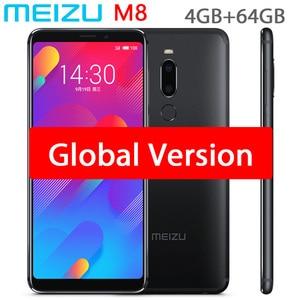 Image 1 - Original Meizu M8 V8 Global Version 4GB 64GB MTK Helio P22 OCTA Core โทรศัพท์มือถือ 5.7 นิ้ว dual SIM โทรศัพท์มือถือ