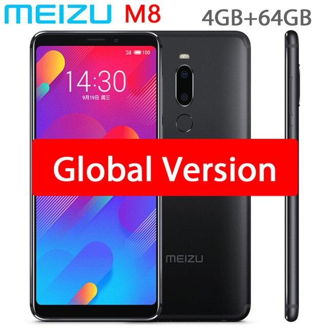 Original Meizu M8 V8 Global Version 4GB 64GB MTK Helio P22 OCTA Core โทรศัพท์มือถือ 5.7 นิ้ว dual SIM โทรศัพท์มือถือ