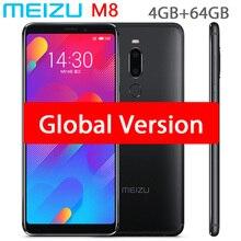Original meizu m8 v8 versão global 4 gb 64 gb mtk helio p22 octa núcleo do telefone móvel 5.7 polegada tela duplo sim celular