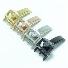 Buckle Wrist-Watch Watch-Button 18MM Watch-Accessories PILOT'S IWC Butterfly Stainless-Steel