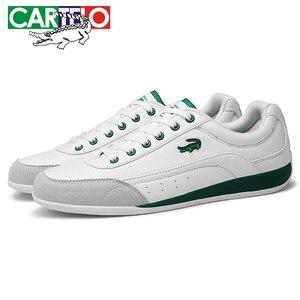 Image 4 - ชายรองเท้าCARTELOรองเท้าแฟชั่นผู้ชายคลาสสิกหนังLace Upรองเท้าผู้ชายLow Top comfortรองเท้า