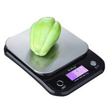 Digital Kitchen Scale 5Kg/0.1g 10kg/1g Stainless Steel Electronic Scales High Accurate Food Baking Scale With Backlight LCD
