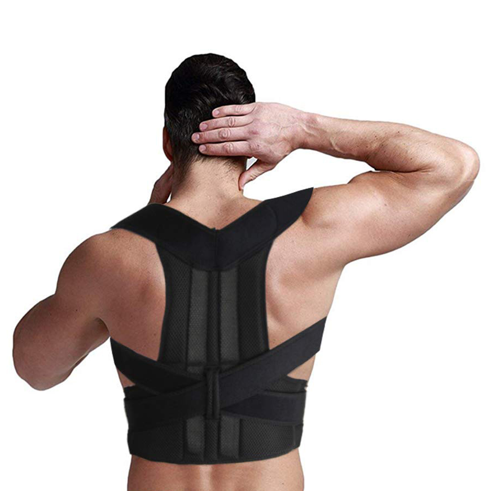 Adjustable Posture Corrector Back Brace Comfortable Back Support For Men And Women Back Straightener Improves Posture