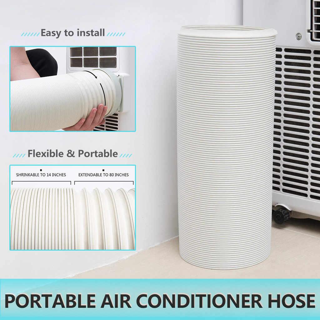 1 5m 2m 3m flexible air conditioner exhaust hose vent tube pipe 150mm diameter duct extension pipe air conditioner accessories