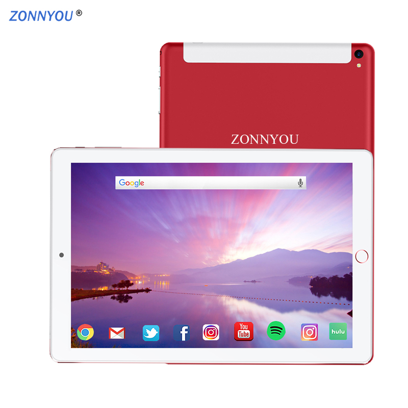 2.5D Steel Screen 10.1 inch Tablet PC 4g/3G Phone Call Android 8.1 Octa Core 4GB Ram 64GB Rom Wi-fi Bluetooth Tablets PC