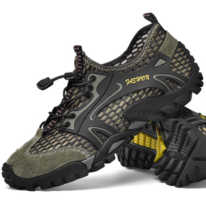 Image 5 - ビッグサイズ 39 48 男性登山靴メッシュbreathalbe屋外トレッキングスニーカー快適な登山靴男性