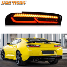 Car LED Tail Light Taillight For Chevrolet Camaro 2016 2017 2018 Rear Running Light + Brake Lamp + Dynamic Turn Signal Light
