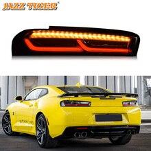 Car LED Tail Light Taillight For Chevrolet Camaro 2016 2017 2018 Rear Running Light + Brake Lamp + Dynamic Turn Signal Light стоимость