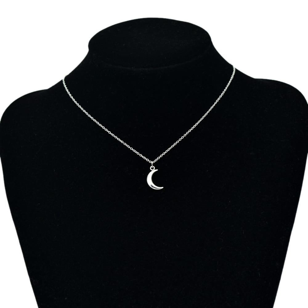 Женское Ожерелье-чокер с подвеской в виде Луны