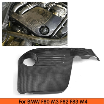 Engine Protector Cover For BMW M3 M4 Bonnet Hood Carbon Fiber Auto Protector Car Accessories 2014 2015 2016 2017 2018 image