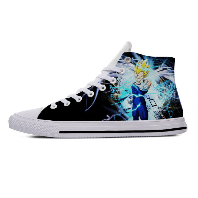 DRAGON BALL Z THEMED HIGH TOP SHOES (18 VARIAN)