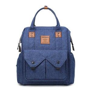 Image 3 - Mommy Bag Дорожная портативная многофункциональная Детская сумка водонепроницаемый рюкзак большой емкости Mommy
