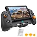 Für Nintendo Schalter Gamepad Controller Handheld Grip Doppel Motor Vibration Gebaut-in 6-Achsen-gyro Design Joycon mit lagerung Tasche
