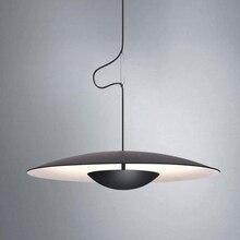 Znany projektant osobowość kreatywna pojedyncza lampa wisząca do restauracji prosty styl skandynawski cafe stół mody wisiorek światła