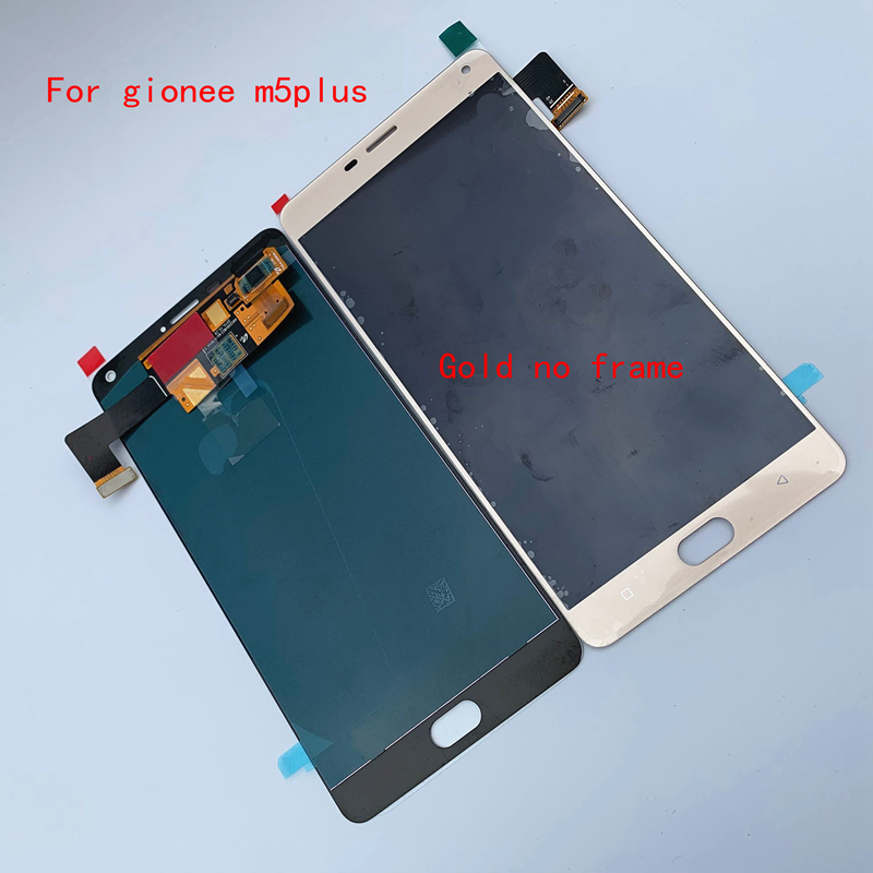 100% Original OLED 6.0 LCD Marathon M5Plus Display Touch Screen Digitizer Assembly For Gionee M5 Plus  LCD Repair