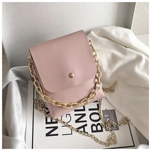 Fairy small bag 2020 summer new ins super fire small square bag retro female bag Korean version of the shoulder messenger bag princess sweet lolita bag small square female satchel bag ins super fire real leather fashion wrapped shoulder bag ensso 116