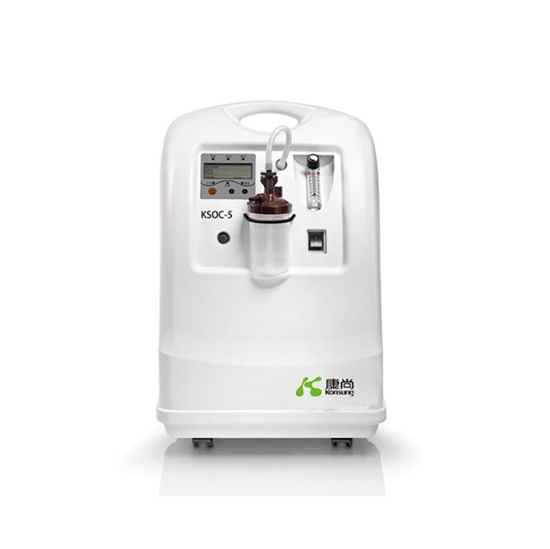 Konsung Medical Grade 110V/220V Homeuse 5L Oxygen Concentrator Generator Oxygenerator with Nebulization Purpose