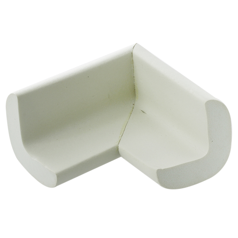 4 Pcs Baby Kids Table Corner Protector Corner Cushions White