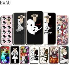 EWAU Danganronpa monokuma Silicone Mattle phone case for