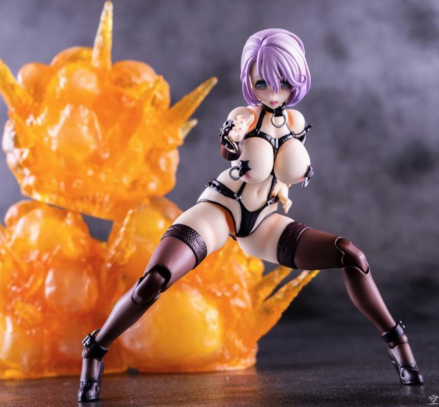 Lensple SECOND AXE Type HENTAI ACTION Minase Shizue Joints Moveable Sexy Girls PVC Action Figures Collection Toys