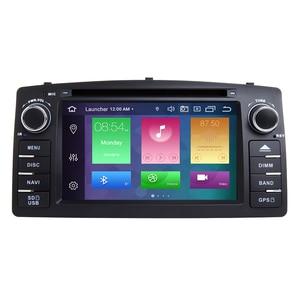 Image 2 - 4GB 64DSP 2 דין אנדרואיד 10 רכב רדיו נגן DVD עבור טויוטה קורולה E120 BYD F3 2000 2003 2004 2005 2006 MultimediaGPS ניווט