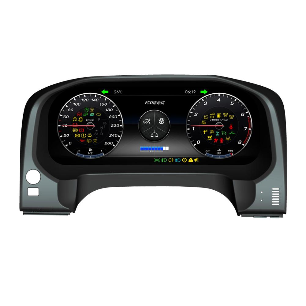 Android Instrument Panel Replacement Dashboard Entertainment System for Toyota Prado 2010 2019 Gauge Sets & Dash Panels     - title=