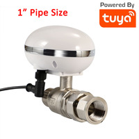 1 Inch IP66 Waterproof Tuya Smart Water Gas Valve Smart Timer Adjust water gas amount Alexa Google WiFi Smart Life Valve|Building Automation| |  -