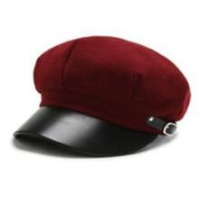 DYLAOPAN New painter Octagonal Hat Women Autumn Winter New Beret Caps Male Casual Painter