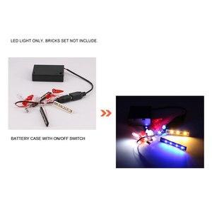 Image 5 - DIY Langlebige LED Licht Beleuchtung Kit RSR Ziegel Spielzeug Glowing Baustein Lichter Für Lego 42096 Technik Porsche 911 RSR ziegel