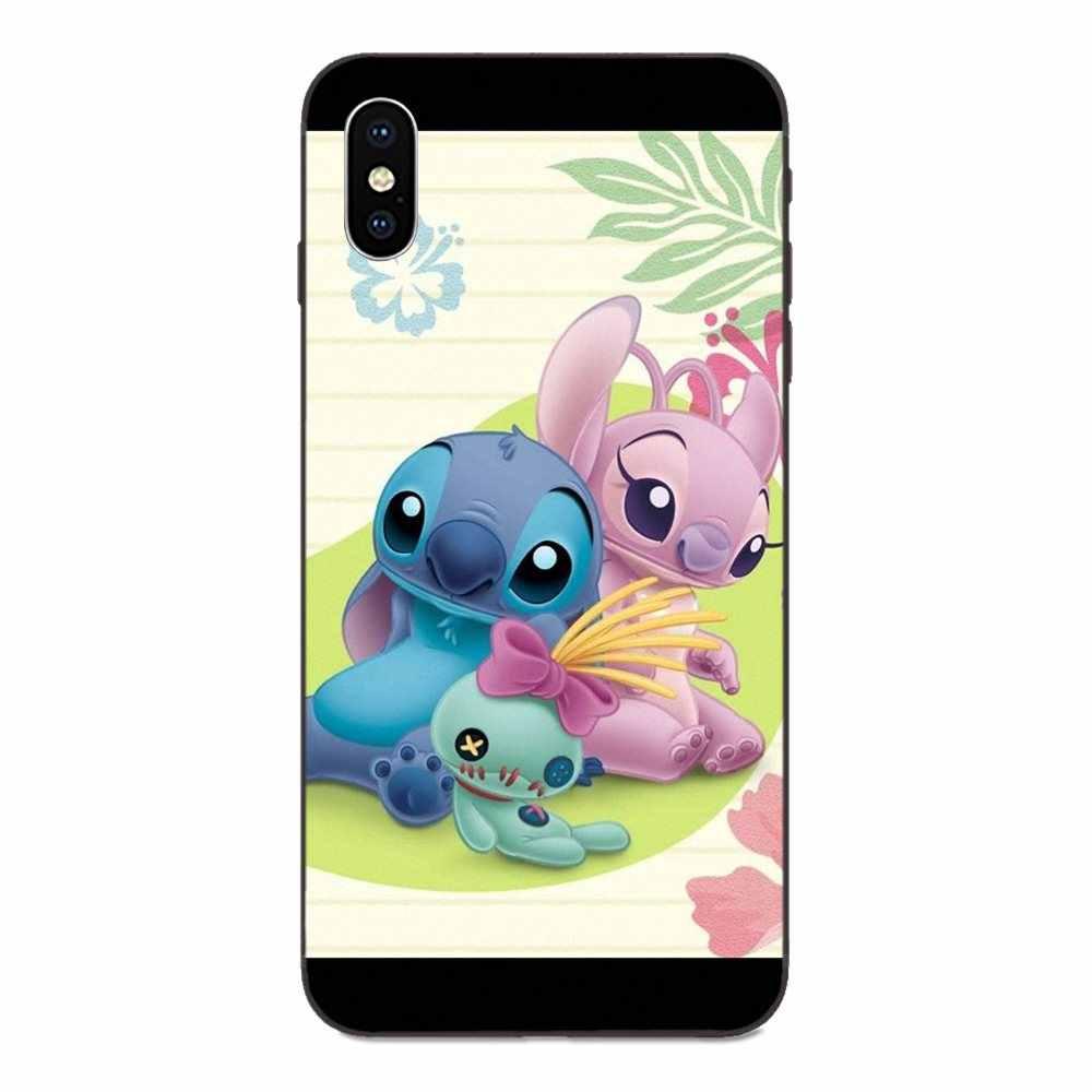 TPU สำหรับ Xiaomi Redmi หมายเหตุ 3 3S 4 4A 4X5 5A 6 6A 7 7A K20 plus Pro S2 Y2 Y3 น่ารัก Lilo หูฟังเคลื่อนย้ายได้หู