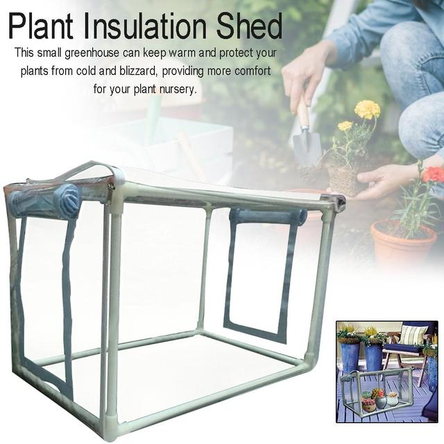 Greenhouse Cover Flower House Mini Gardening Plant Flower Pop Up Tent,Greenhouse Cover For Cold Frost Protector Gardening Plants
