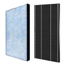 1 набор (2 шт.) очиститель воздуха HEPA + дезодорирующий фильтр для Sharp KC-850E-R воздухоочиститель запасные части