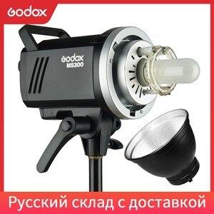Image 1 - Godox MS200 200 Вт или MS300 300 Вт 2,4G встроенный беспроводной приемник, легкий, компактный и прочный, крепление Bowens, студийная вспышка