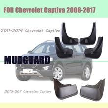 FOR  Chevrolet Captiva Mudguards fenders Mud flaps car mud splash guards fender Accessories auto styline