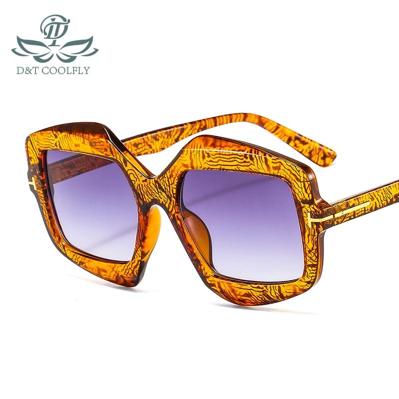 D & T 2020 Новое поступление модные солнцезащитные очки с защитой от ультрафиолета, фирменный дизайн, роскошные цветные линзы, оправа из полика...