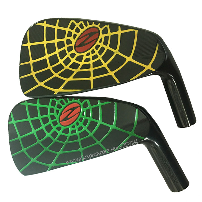 Cooyute New Irons Golf Heads Zodia Spider Limited Edition Golf Irons 4-P 7Pcs Clubs Heads Set No Clubs Golf Shaft Free Shipping