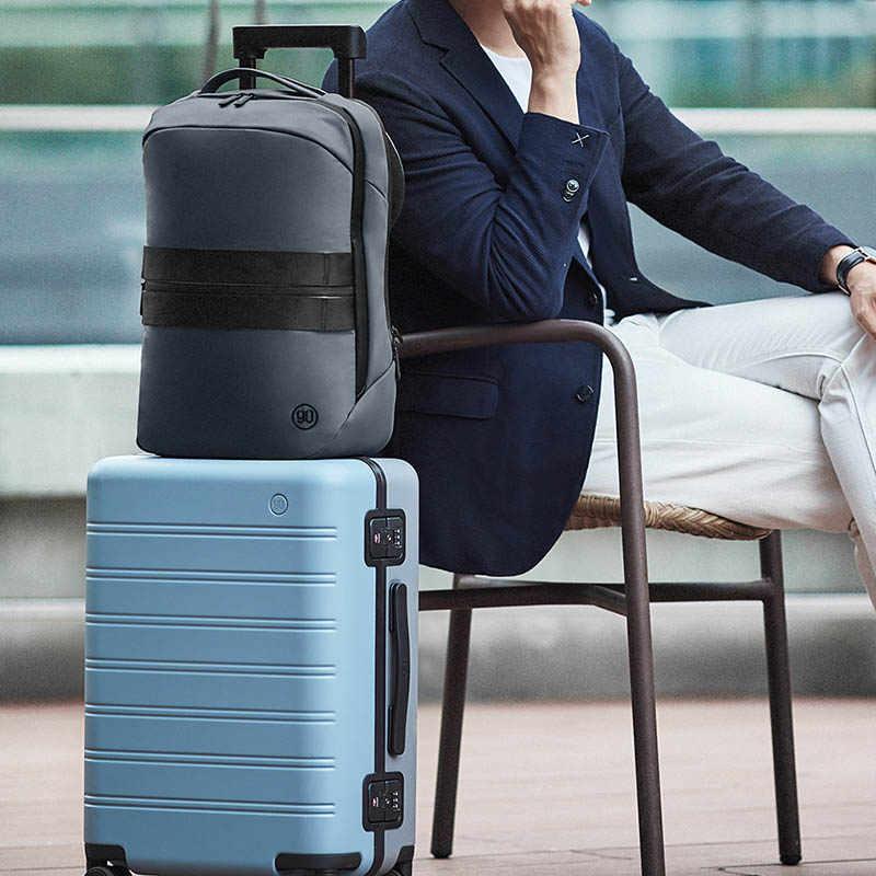 Ninetygo 90FUN 2020 Nieuwe Aankomst Manhattan Business Lezing Rugzak Voor Mannen En Jongens Moderne Luxe Laptop Reizen Mochila