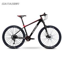 CATAZER Carbon Mountain Bike 17 19 21 Carbon Fiber Frame Bicycle 26er Wheel 20 Speeds Profession