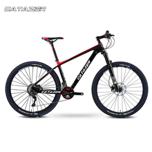 CATAZER Carbon Mountain Bike 17″/19″21″ Carbon Fiber Frame Bicycle 26er Wheel 20 Speeds Profession MTB Bicycle Disc Brake Bike