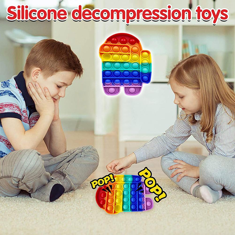 Decompression Toys Gift-Pack Anti-Stress-Set Pop-It Squishy Stretchy-Strings Sensory img5