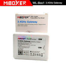 Nowy bezprzewodowy kontroler WL Box1 DC5V Miboxer kompatybilny z systemem IOS/Andriod aplikacja bezprzewodowa sterowanie dla CW WW żarówka rgb